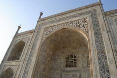 Detalle en el mármol del #TajMahal #Agra #India Detal in marble of #TajMahal #Agra #India