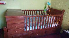 cuna para bebe cuja, en madera