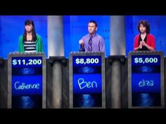 One Direction on Jeopardy