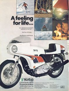 dating norton motorcycles