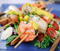Lax- och torskspett med basilikaaioli | Recept ICA.se