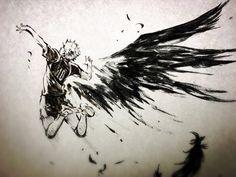 Haikyuu les as du volley les ailes d\'Hinata #Dessin niuya