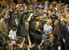 A little less than a year ago, LeBron James was named the NBA Finals MVP after the Cleveland Cavaliers capped a comeback from a deficit with a Game 7 victory in Oakland. Will the Cavs successfully defend their title this year? Cleveland Cavs, Cleveland Indians Baseball, Cleveland Rocks, Nba Finals 2016, Nba Trade Rumors, Nba Scores, Warriors Game, Nba Championships, Game 7