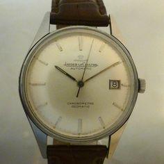JAEGER LECOULTRE vintage GEOMATIC chronomètre date ref E399
