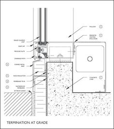Image result for structural glazing detail foundation