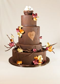 vanille patisserie fall wedding cake