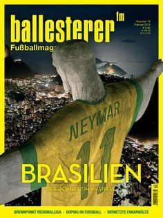 Neymar/Jesus watches over Rio - Ballesterer (Vienna)