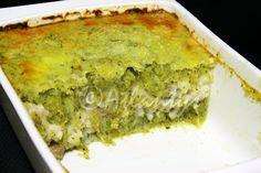 Terapia do Tacho: Empadão de peixe (com puré de brócolos e batata doce) (Fish pie with brocolli and sweet potato mash))