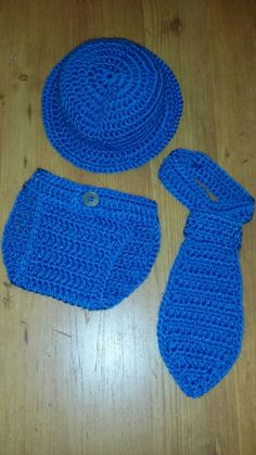 Crochet Handsome boy set with top hat To see more or place an order visit https://m.facebook.com/Brandyscutecrochetcreation?ref=bookmark