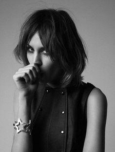 Alexa Chung for Chanel.