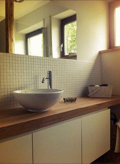 Bad, Bathroom, Renovierung, neues Bad, Holz