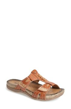 Earth® 'Abaca' Leather Sandal (Women) available at #Nordstrom