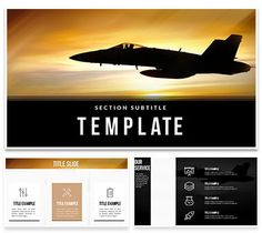 Battleplans military aviation powerpoint template template flying combat aircraft keynote template presentation toneelgroepblik Gallery