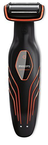 Philips – BG2026/32 – Tondeuse et Rasoir Corps Bodygroom – Noire et orange: Témoin de batterie indiquant l'état de la batterie (faible,…