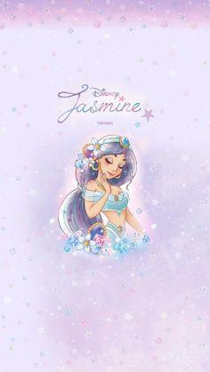 Disney Princesses And Princes, Disney Princess Art, Disney Fan Art, Disney Fun, Aladdin Wallpaper, Disney Phone Wallpaper, Cute Wallpaper Backgrounds, Cute Cartoon Wallpapers, Kawaii Disney