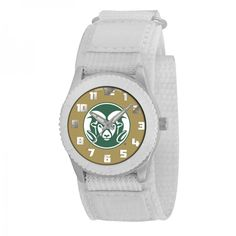 Colorado State Rams NCAA Kids Rookie Series Watch (White)