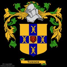 Irish Coats of Arms Family Crests SOUDERS | Turner Coat of Arms, Family Crest and Turner Family History