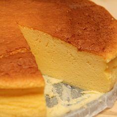 Habkönnyű japán sajttorta recept