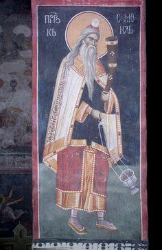 Serbian Culture and Heritage Biblical Art, Catechism, Old Testament, Orthodox Icons, Christian Art, Byzantine, Fresco, Saints, Digital