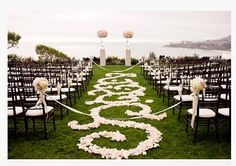 Will we need to do this with ribbon to block main aisle from guests?