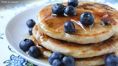 Today is we celebrate Blueberry Pancakes. This is observed annually on January Blueberry pancakes are not only delicious but also nutritious. Pancakes are usually served at any time of the day with a variety of toppings or fillings but… Blueberry Pancakes, Blueberry Recipes, Breakfast Pancakes, Pancakes And Waffles, Breakfast Dishes, Breakfast Recipes, Fluffy Pancakes, Pancake Recipes, Fluffiest Pancakes