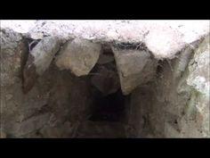 A secret passage down a well to a secret castle room.