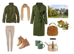 """""""Autumn outfit"""" by biancabresto on Polyvore featuring 7 For All Mankind, Mollini, UGG, Topshop, L.L.Bean and Crate and Barrel"""