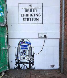 The Incredible Street Art of Trust Icon - joyenergizer Best Graffiti, Graffiti Tagging, Street Art Graffiti, Chalk Photography, Vintage Photography, Miyazaki, Los Angeles Wallpaper, Tattoo Posters, Pin Up