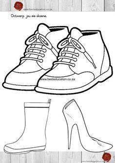 Skoen ontwerp Kuns Graad 6 - www.besteducation.co.za
