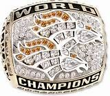 ... rings :: 1998 Denver Broncos Super Bowl XXXIII Champions 10K Gold Ring