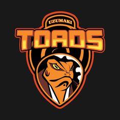 Awesome 'Uzumaki+Toads' design on TeePublic!