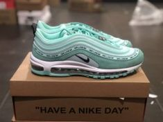 1e15381cb9 Nike Air Max 97 921733-014 Mint green womens Athletic Sneakers shoes