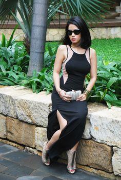 Black orchid dress