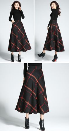 9e342607e4f7b 32 Best Plaid Skirts For Women images in 2018 | Plaid skirts, High ...