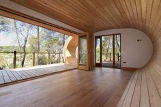 Treehouses: la casa sull'albero ispirata alla spirale di Fibonacci