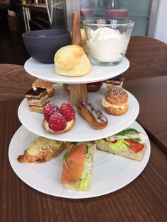 Cocorico Patisserie, Cardiff. A French twist on afternoon tea.