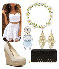 """""""white goddess"""" by magy662520 ❤ liked on Polyvore featuring beauty, Alexander McQueen, Madden Girl, Carole, Alexia Crawford and Marc Jacobs"""