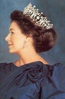 HRH The Princess Margaret Rose, Countess of Snowdon -the Poltimore Tiara
