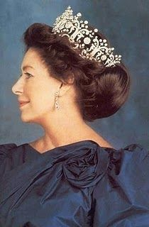 HRH The Princess Margaret Rose, Countess of Snowdon -the Poltimore Tiara