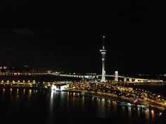 This is the beautiful view taken from sky21@macau