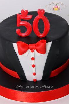 Tort costum pentru 50 de ani