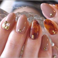 japanise tortoiseshell nails
