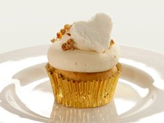 Sweet Potato Cider Cupcake with Marshmallow frosting! What a great fall treat to have for a hayride!