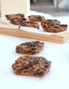 Nem acredito que é saudável!: Barrinhas de aveia e manteiga de amendoim . Granola peanut butter bars