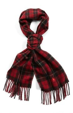 Polo Ralph Lauren Tartan Scarf available at #Nordstrom