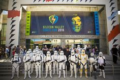 Fans and fantasy collide in one of the most creative and costumed events ever to come to Silicon Valley. Check out these scenes from the first ever Silicon Valley Comic Con.