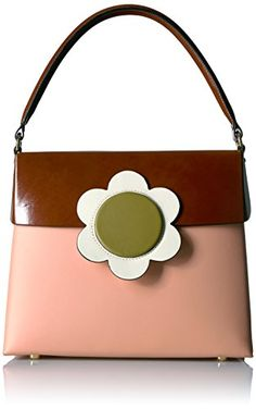 Orla Kiely Giant Flower Leather Large Bonnie Marshmallow   Read more at the  image link. db95b60982ffe