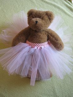 "Psyched to Sew: tutu for Build a Bear or 18"" doll"
