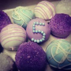 Princess cake balls