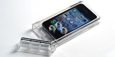waterproof case for iphone4 that allows you take pictures underwater - yes please